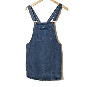Forever 21 | Overall Jean Dress